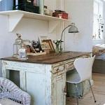 shabby-chic-desk shabby-vintage.pl