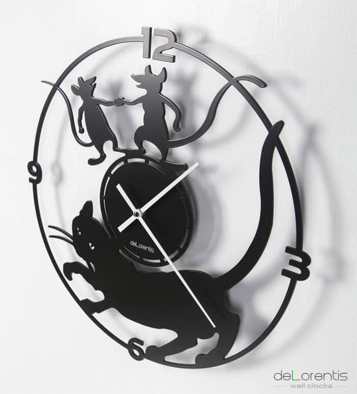 Zegar scienny Horloge murale Wall Clock wandhuren Reloj de pared Orologio da parete